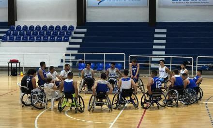 Básquet sobre silla de ruedas: el juvenil sumó una nueva concentración
