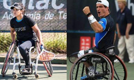 Tenis adaptado: Fernández y Moreno avanzan en Estados Unidos
