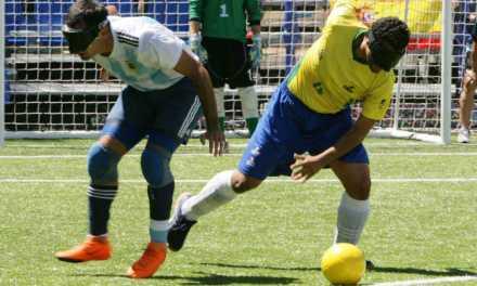 Fútbol para ciegos: Brasil, el invitado de lujo para jugar la Copa Tango en Buenos Aires
