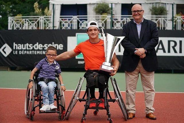 Tenis adaptado: ¡Gustavo Fernández, tricampeón en Francia!