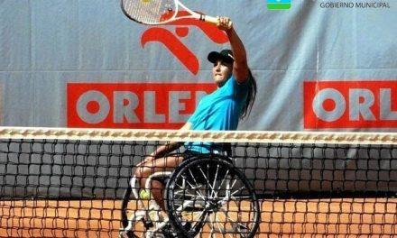 Tenis adaptado: Florencia Moreno y otro triunfazo ante una top ten