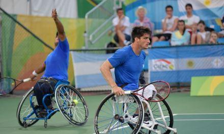 Tenis adaptado: duelo argentino en París