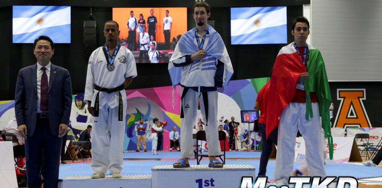 Parataekwondo: Facundo Novik busca puntos para Tokio