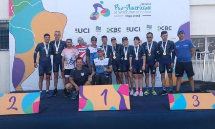 Paraciclismo: seis medallas argentinas en Brasil