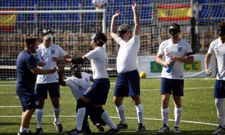 Fútbol para ciegos: Inglaterra llega a la Argentina y jugará contra Boca y River