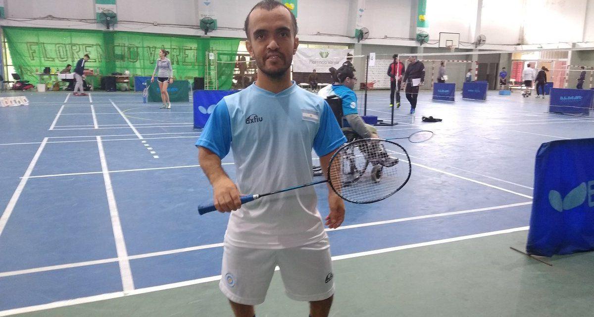 Parabádminton: Ángel Ielpo, campeón nacional
