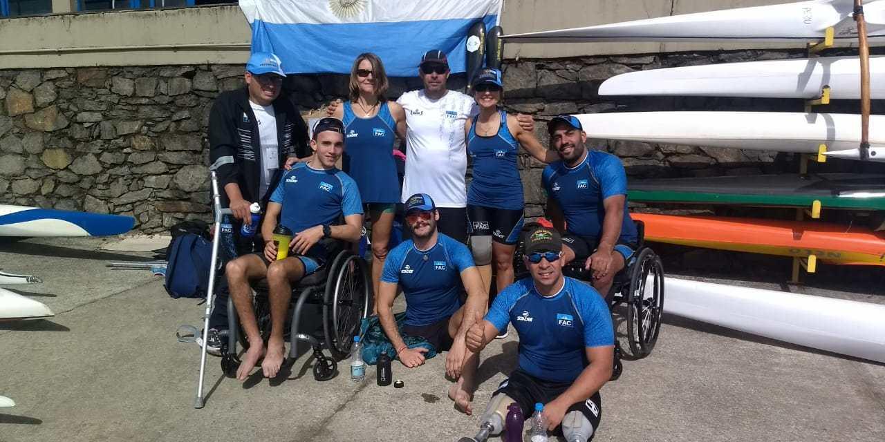 Paracanotaje: doce medallas en Brasil
