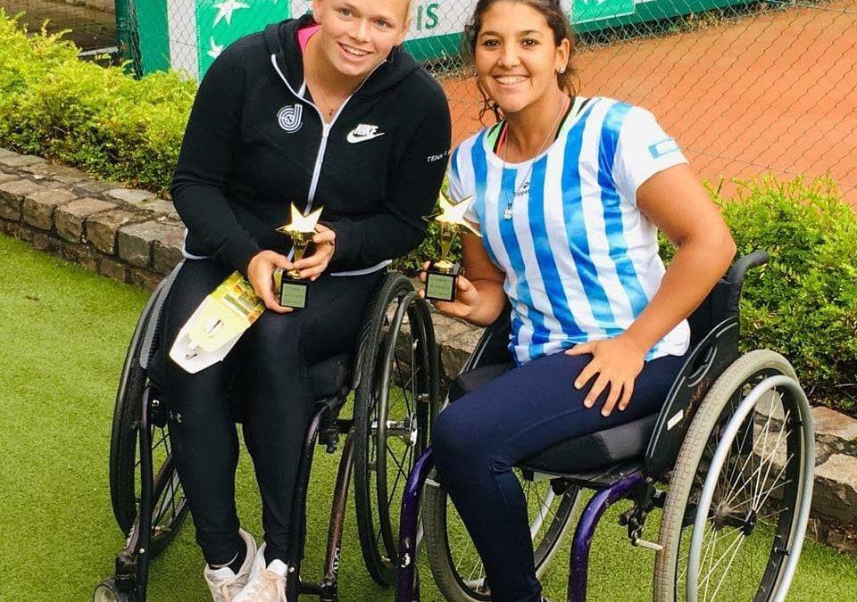 Tenis adaptado: buena semana para Ledesma y Moreno en Bélgica