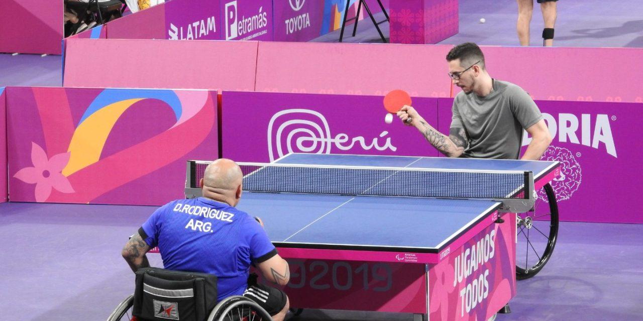 Lima 2019, día 1: el tenis de mesa adaptado argentino, firme en los Juegos Parapanamericanos