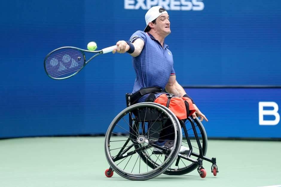 Tenis adaptado: Gustavo Fernández, subcampeón de dobles en el US Open