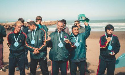 Surf adaptado: se disputó la segunda fecha del Torneo Nacional en Mar del Plata