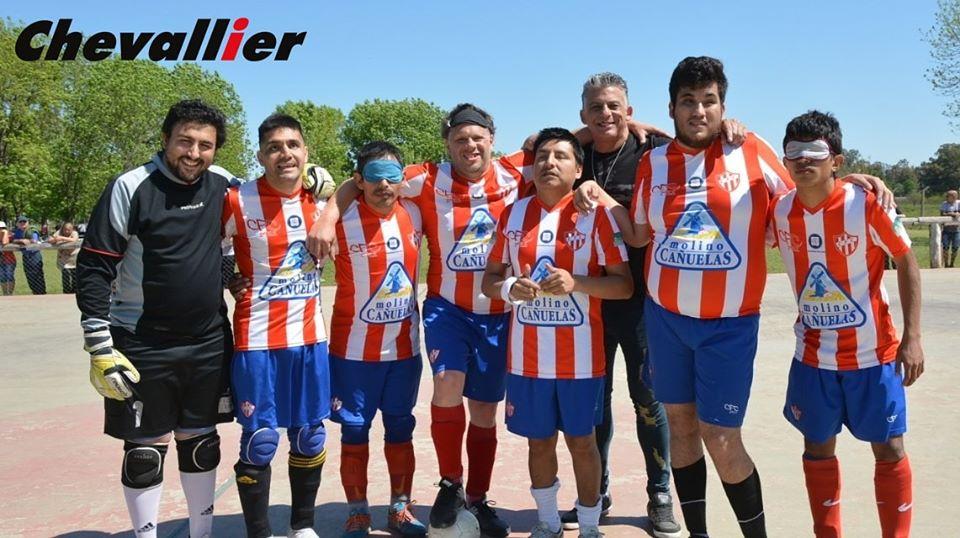 Fútbol para ciegos: Fundación Paradeportes Cañueñas se presenta en Santa Fe, en un fin de semana con muchos atractivos