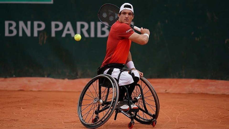 Tenis adaptado: Gustavo Fernández terminó cuarto en el Masters