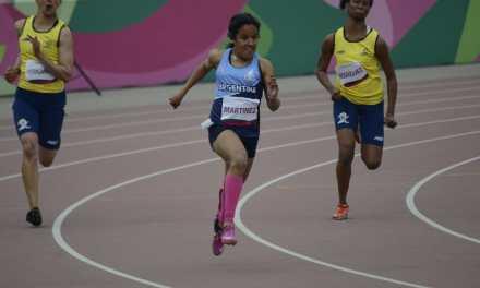 Histórico: Yanina Martínez, medalla de bronce en los 200 metros del Mundial de para-atletismo en Dubai