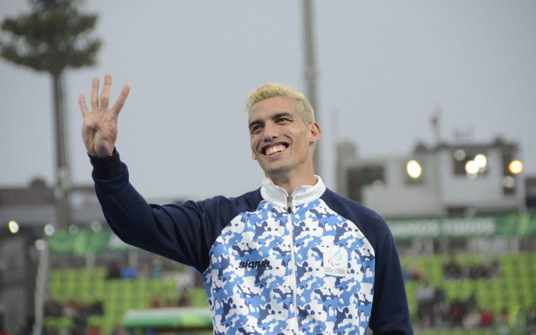 Atletismo paralímpico: Hernán Barreto, quinto en el cierre del Mundial de Dubai