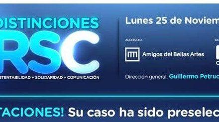 """La Fundación Paradeportes, seleccionada para el premio """"Distinciones RSC"""" como Mejor Fundación 2019"""