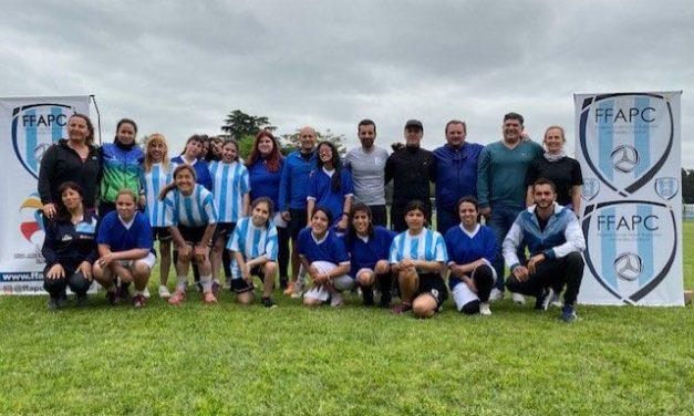 Fútbol PC: el seleccionado femenino tuvo su primera concentración