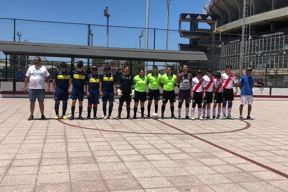 Fútbol para ciegos: Boca-River, el choque más destacado de los cuartos de final