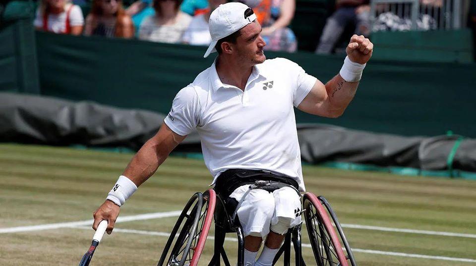Tenis adaptado: sólido debut para Gustavo Fernández en el 2020