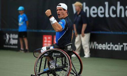 Tenis adaptado: Gustavo Fernández avanza en Melbourne