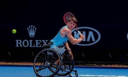 Tenis adaptado: Gustavo Fernández, eliminado en cuartos de final del Australian Open