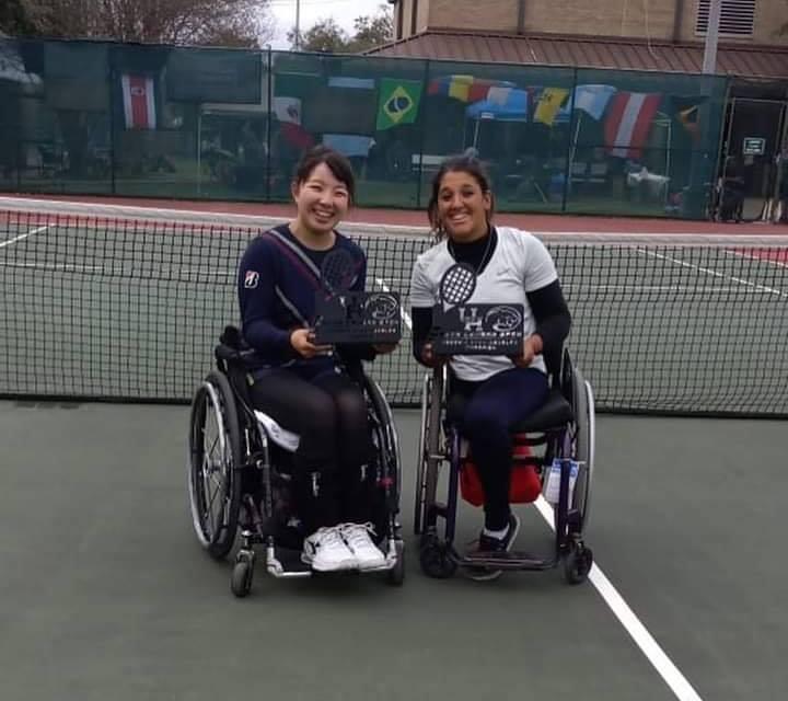 Tenis adaptado: Ledesma y Moreno, campeones en Huston