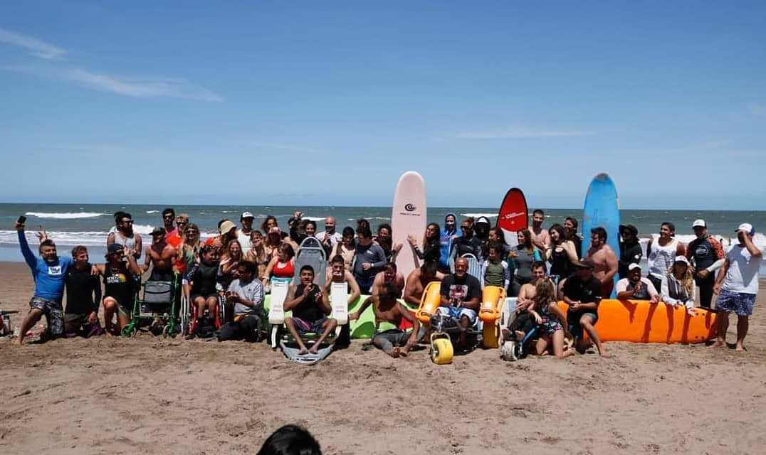 Surf adaptado: todo listo para la segunda fecha del Campeonato Nacional