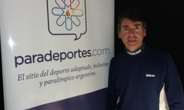 Eduardo Raffetto, el hombre que impulsó el tenis para ciegos en Argentina