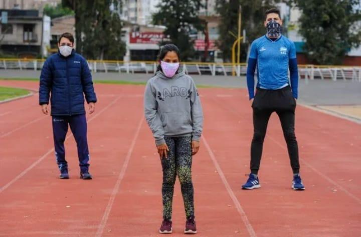 Los atletas paralímpicos rosarinos retomaron la actividad