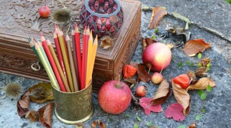 Gemalter Herbst