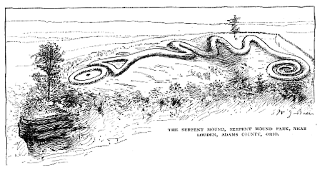 Symbolism of the Great Serpent in the Adena and Hopewell