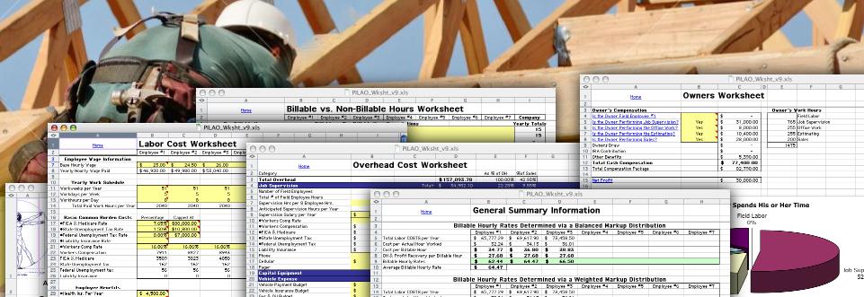 The Capacity Based Markup Workbook version 2.07