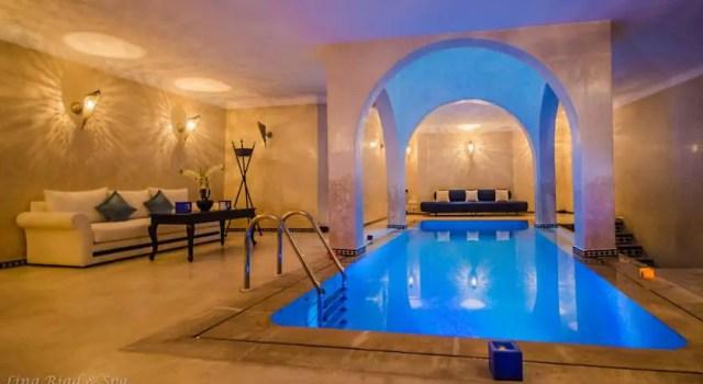 blauwe stad marokko