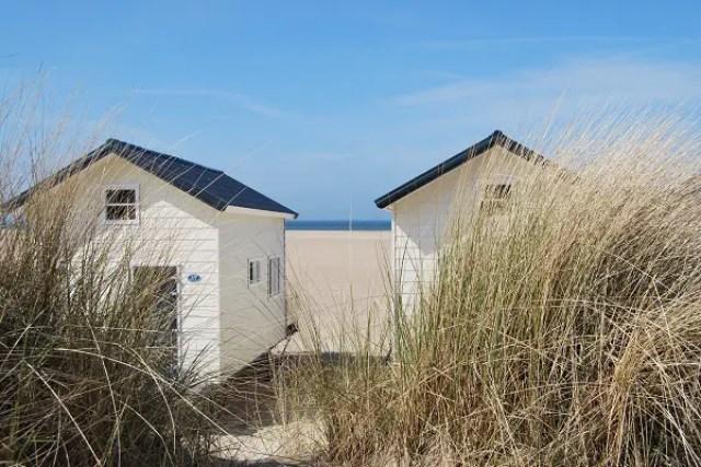 rustige stranden in nederland