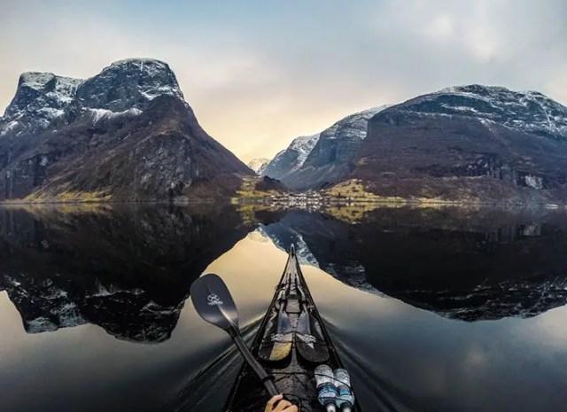Noorwegen vanuit een kajak | Paradijsvogels Magazine