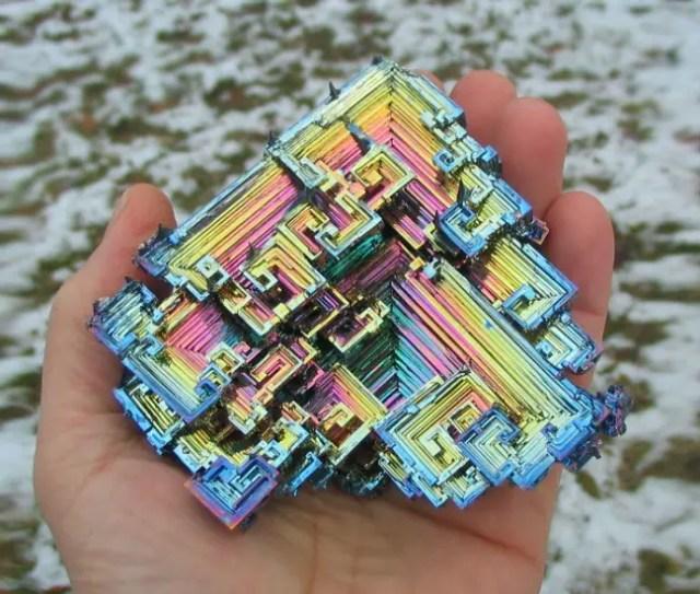 magische mineralen bismuth