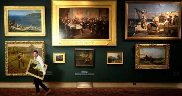 nep schilderijen wedstrijd museum