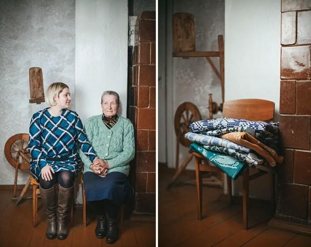 grootmoeders kleindochters