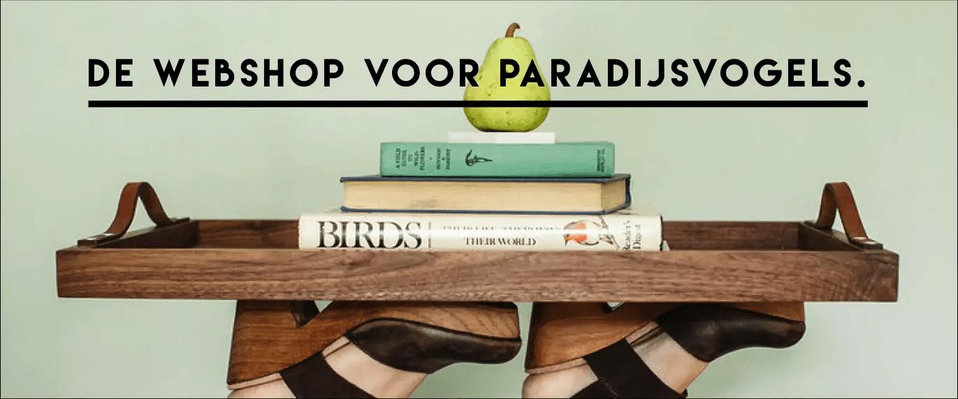 webshop voor paradijsvogels