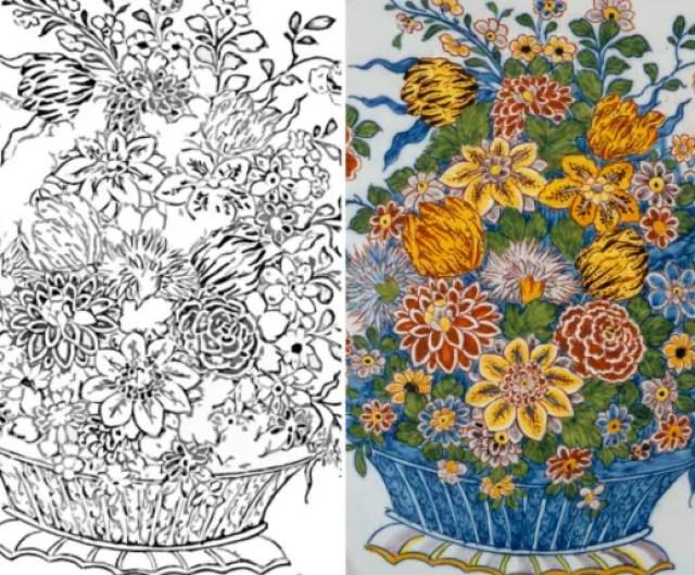 Oude prenten uit collecties van musea om gratis als kleurboek te downloaden