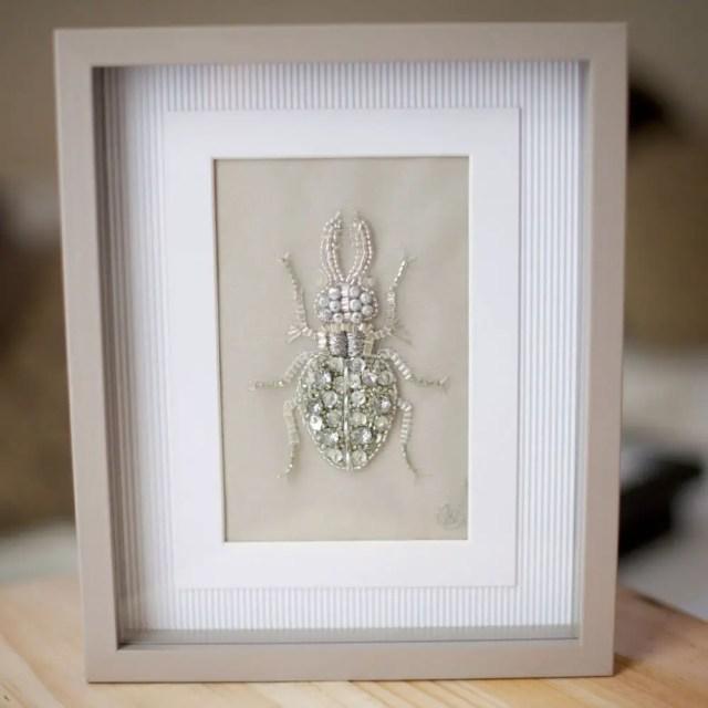 Borduurkunst insecten