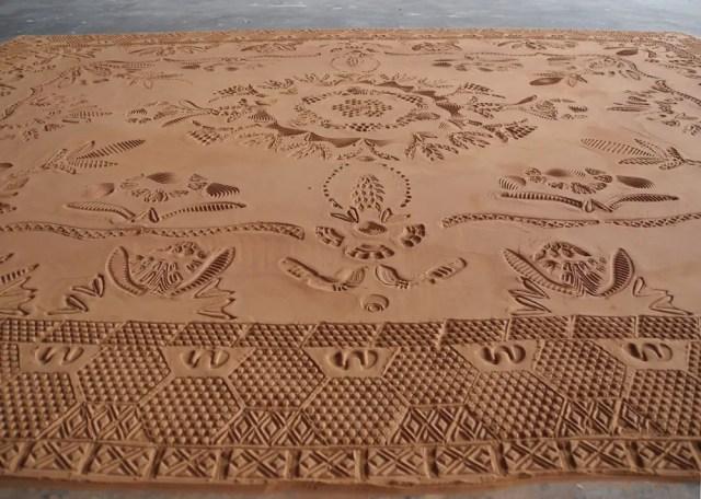tapijt van zand