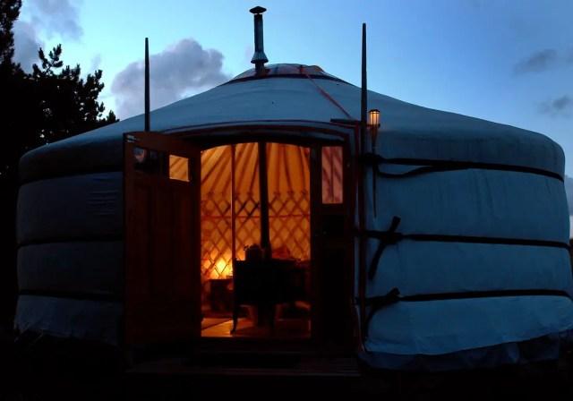 Yurt 2 bijzondere overnachtingen