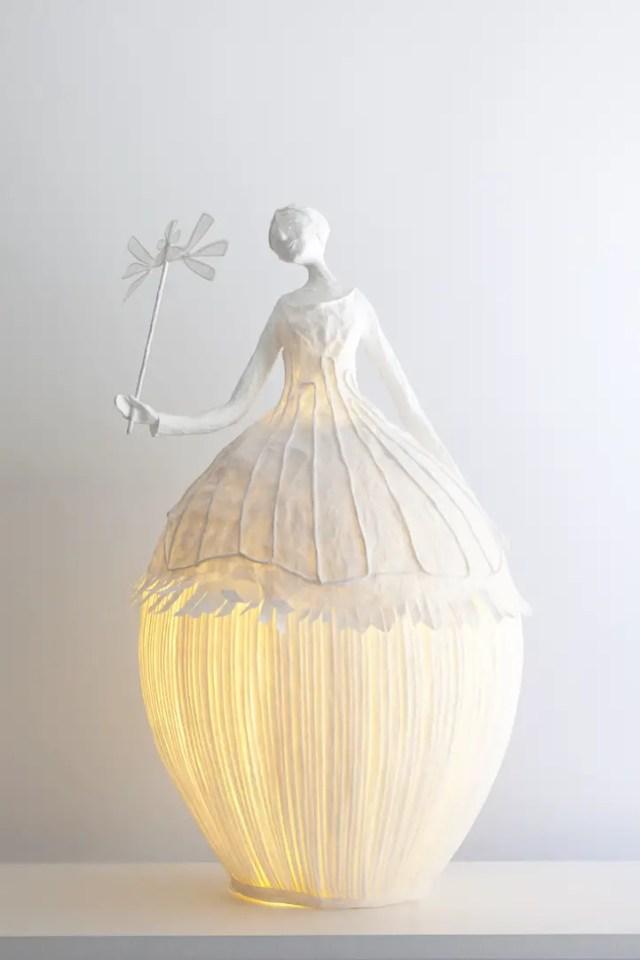 Papieren lamp 4