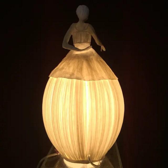 Papieren lamp 6