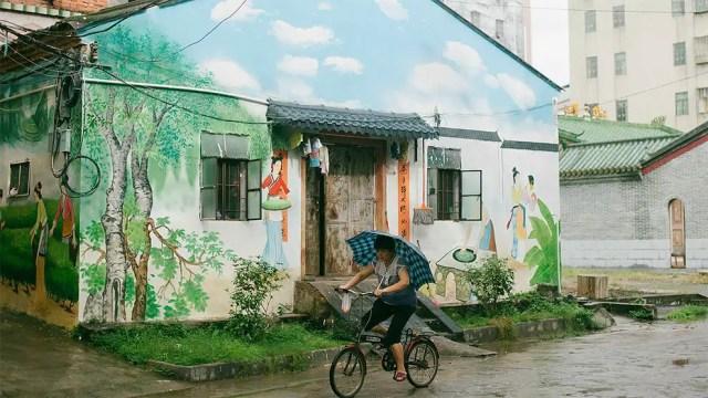 Chinese muurschilderingen 1