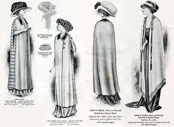 Naaipatroon 1910 - Madame Weigel's