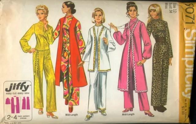Naaipatroon 1970 - Simplicity