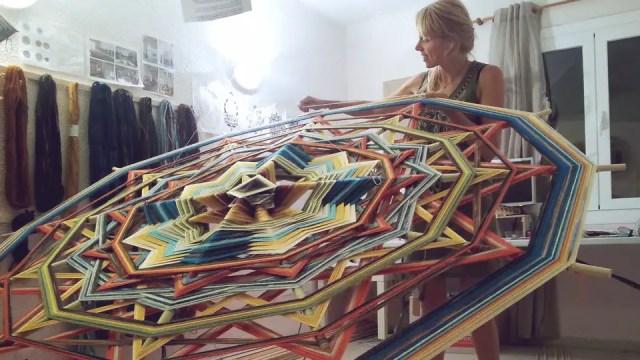 VAWAA - Cloe Collette - mandala weven 2