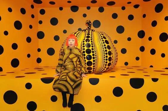 kusama 3 - pumpkin